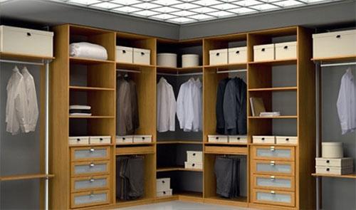 El closet vestidor ideal the ideal walk in closet for Closets minimalistas df