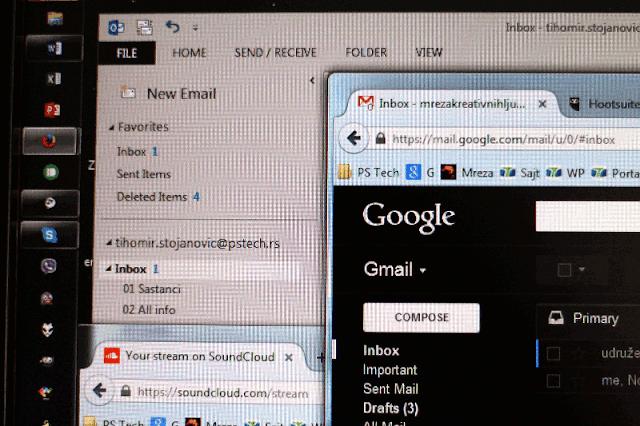 Organizacija poslovnog maila