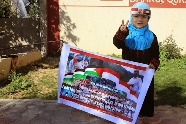 Inilah Bentuk Dukungan Warga Gaza Untuk Banjarnegara