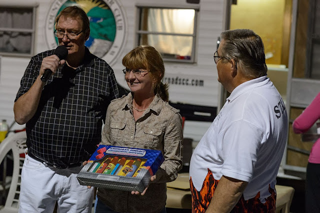 "Winner of ""Peoples' Choice"" chili from the Country Roads Car Club Chili Cook-Off"
