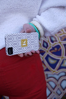 Customized Moroccan Pattern iPhone Case