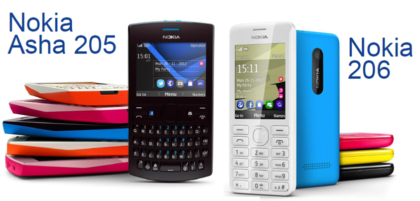 Nokia Asha 205 and Nokia 206: Price, Specs and Availability in the
