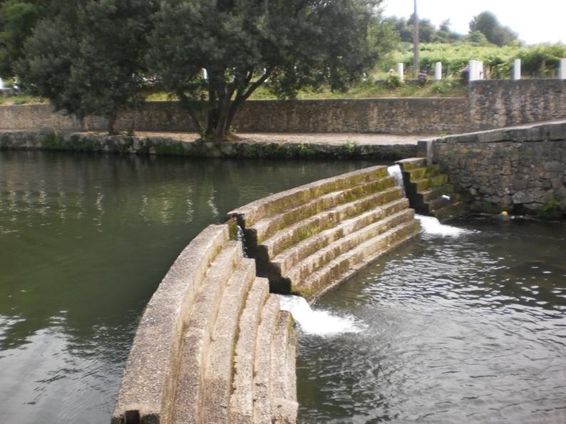 Rio Caima na Praia Fluvial de Burgães