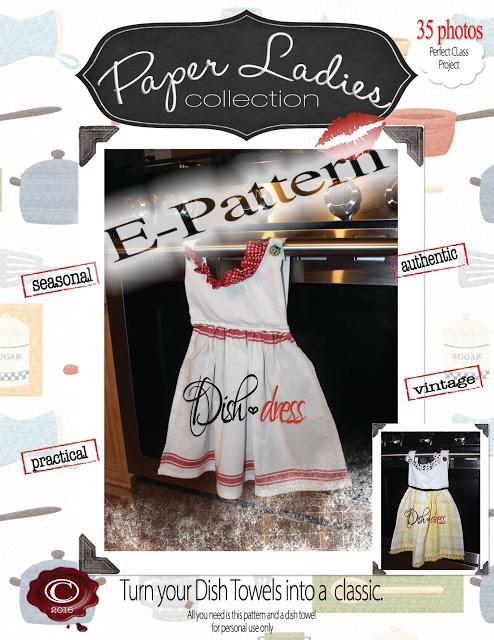 Classic DISH DRESS e pattern