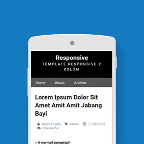 responsive template