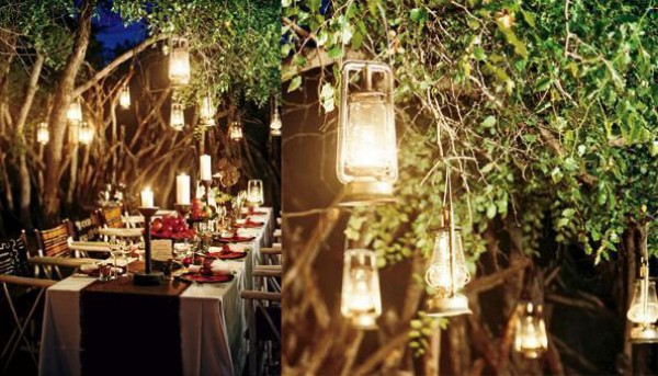Backyard Wedding Table Decoration Ideas Backyard Wedding Table Decoration