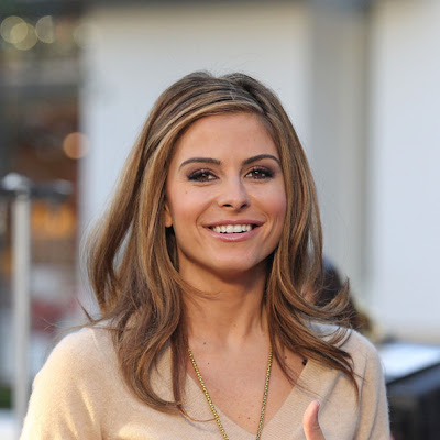 Maria Menounos Layered Cut Hairstyle Lookbook
