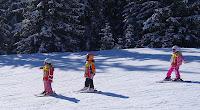 Alta Badia zvládajú aj najmenší lyžiari