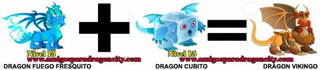 como hacer el dragon vikingo de dragon city formula 2