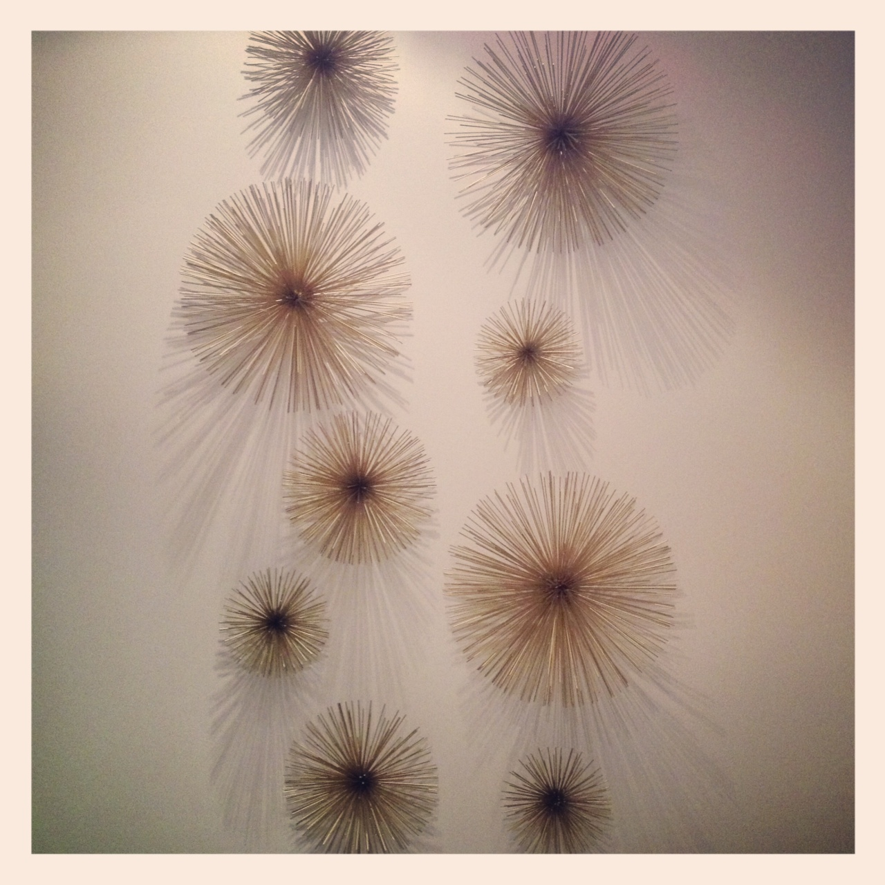 Luxe Decor: Starburst Wall Art Look For Less Part 80