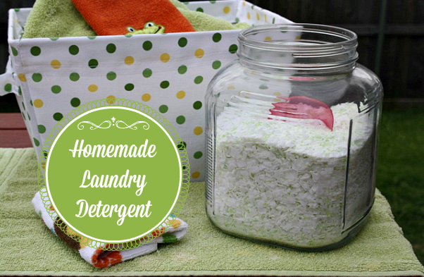 Several years back I shared a recipe for Homemade Laundry Detergent. I love making my own laundry soap, because it's so much cheaper than store bought.