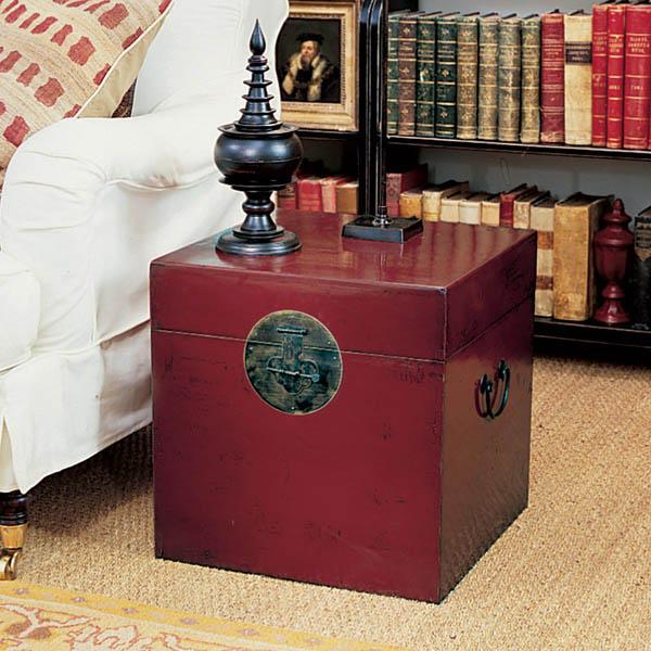 Rustik chateaux como decorar con muebles chinos tradicionales - Mueble salon rojo ...