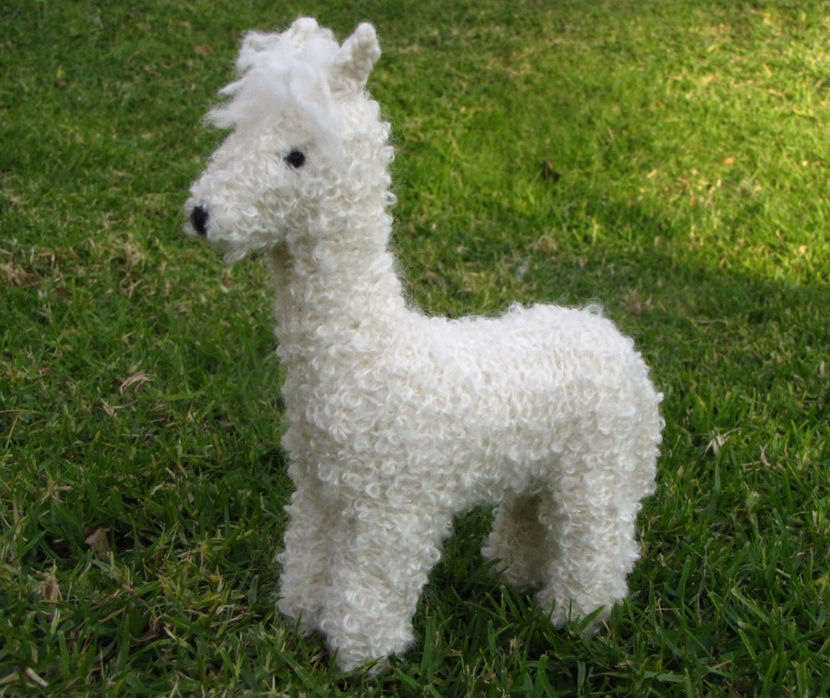 Alpaca Toy Knitting Pattern And A Giveaway Natural Suburbia