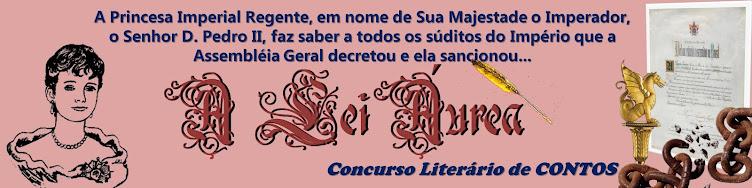 A Lei Áurea - Concurso literário de contos