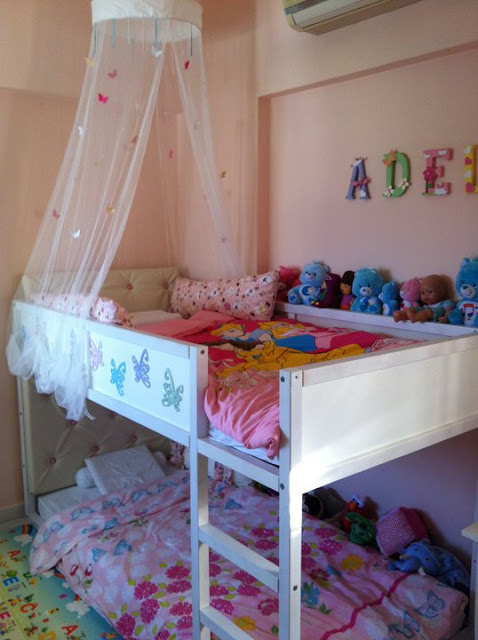 Girly girl KURA bunk