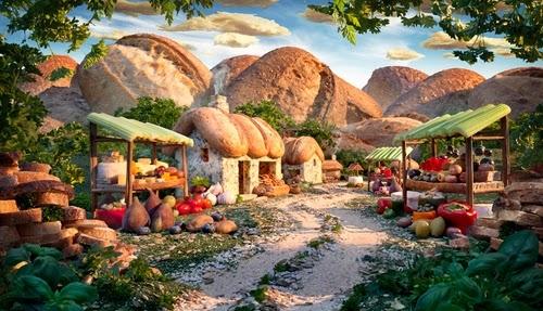 23-Bread-Village-Foodscapes-British-Photographer-Carl-Warner-Food- Vegetables-Fruit-Meat-www-designstack-co