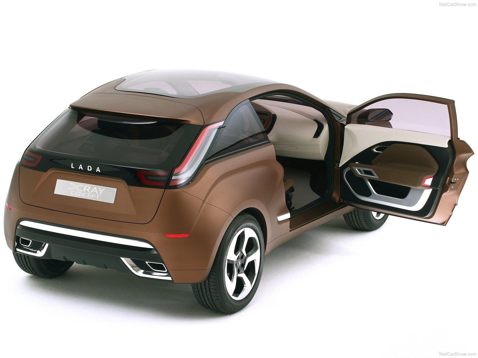 Hình ảnh xe ô tô Lada XRay Concept 2012 & nội ngoại thất