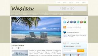 Download Westen Blogger Template