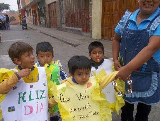 EXPERIENCIAS: ¡ CELEBRANDO LA SEMANA DE LA EDUCACIÓN INICIAL