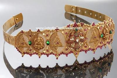 Designer Kundan Waist Belt