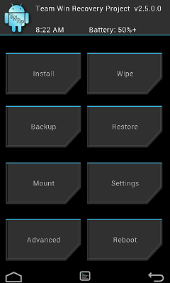 Moto X TWRP Recovery