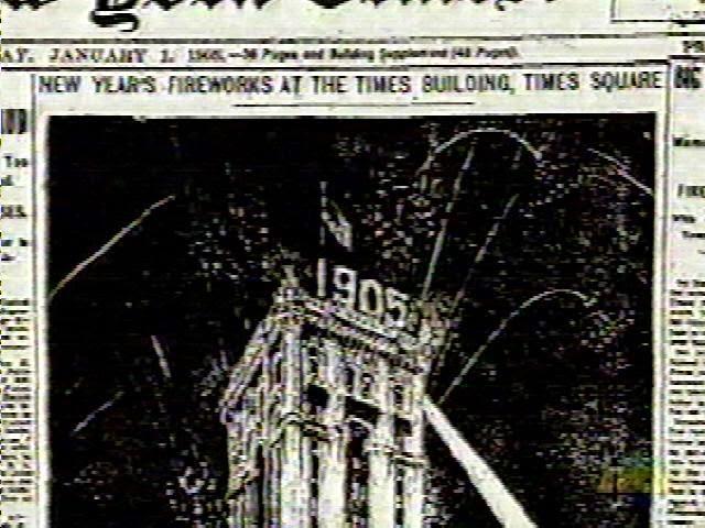 periódico Times Square 1905