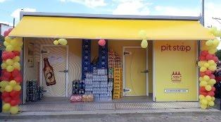 Pit Stop Skol, em Mairi-BA