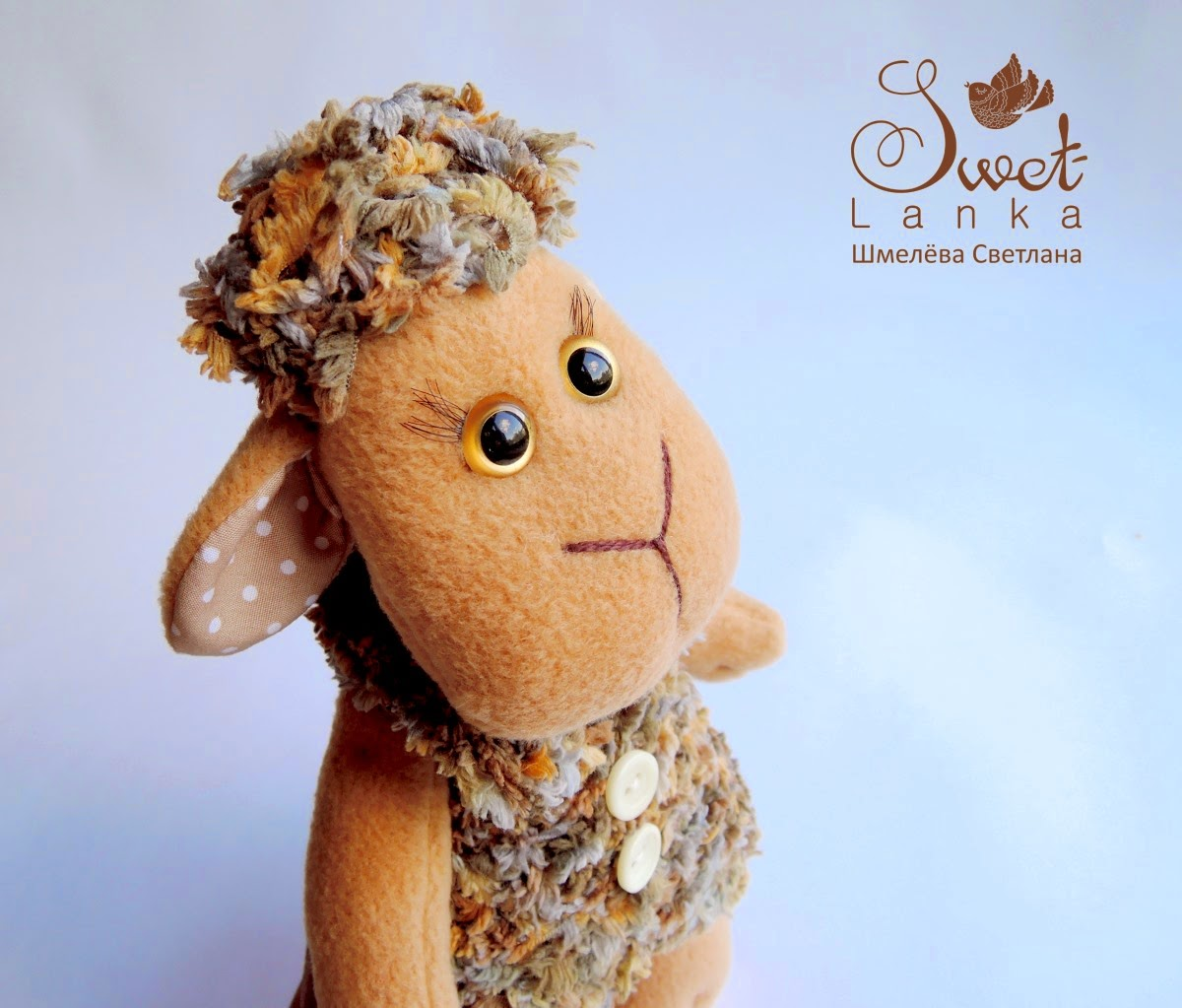 овца из флиса