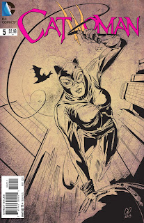 Cat Woman - Cover - DC Comics - varient 1 - Cesare Asaro