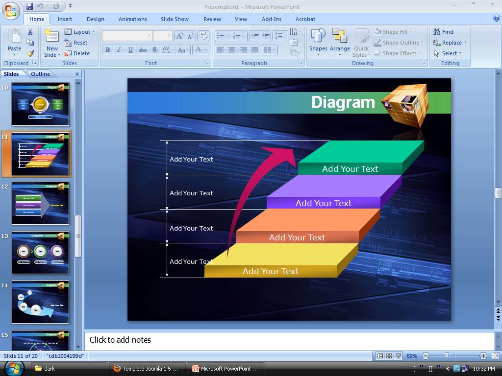Wallpaper for PowerPoint Keren