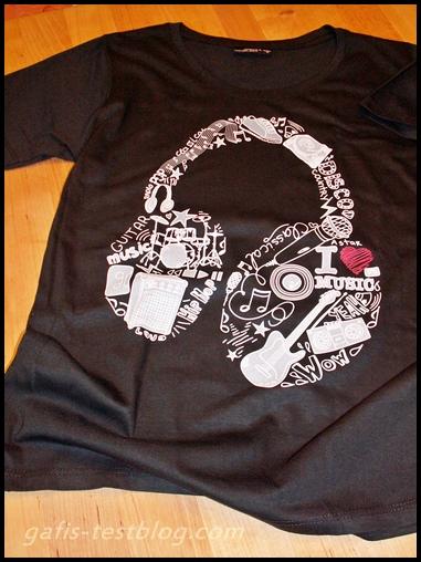 Likoli T-Shirt - Ganzkörperkopfhörer