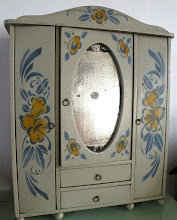 1920's French Armoire for Dolls