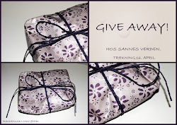 GIVE AWAY hos meg!