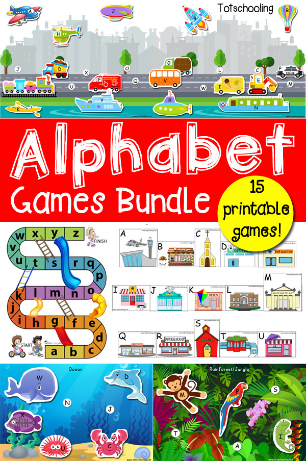 Alphabet Games Bundle