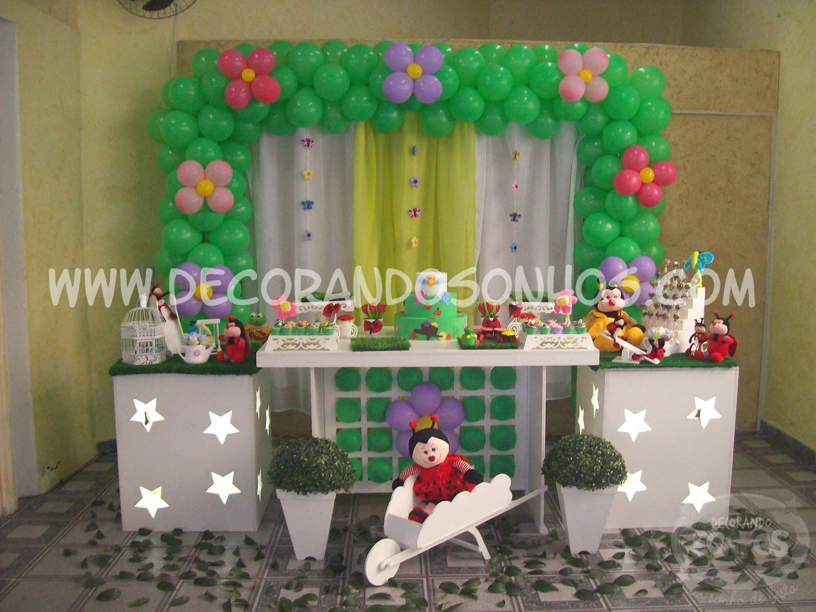 decoracao de balões jardim encantado – Doitricom