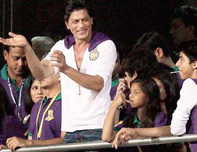 Shah Rukh Khan Pepsi IPL 2013 Photos