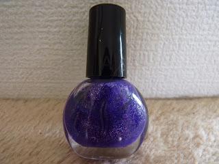 vernis à ongle, vernis à ongle Sephora, vernis violet à paillette