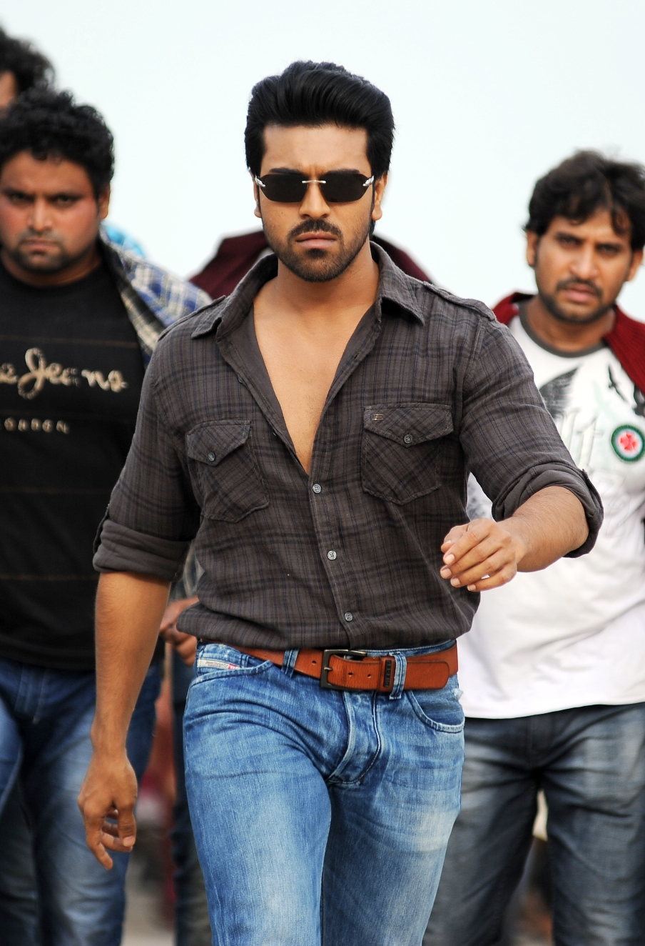 Telugu Cinema Ram Charan And Kajal Agarwal Nayak Movie Stills