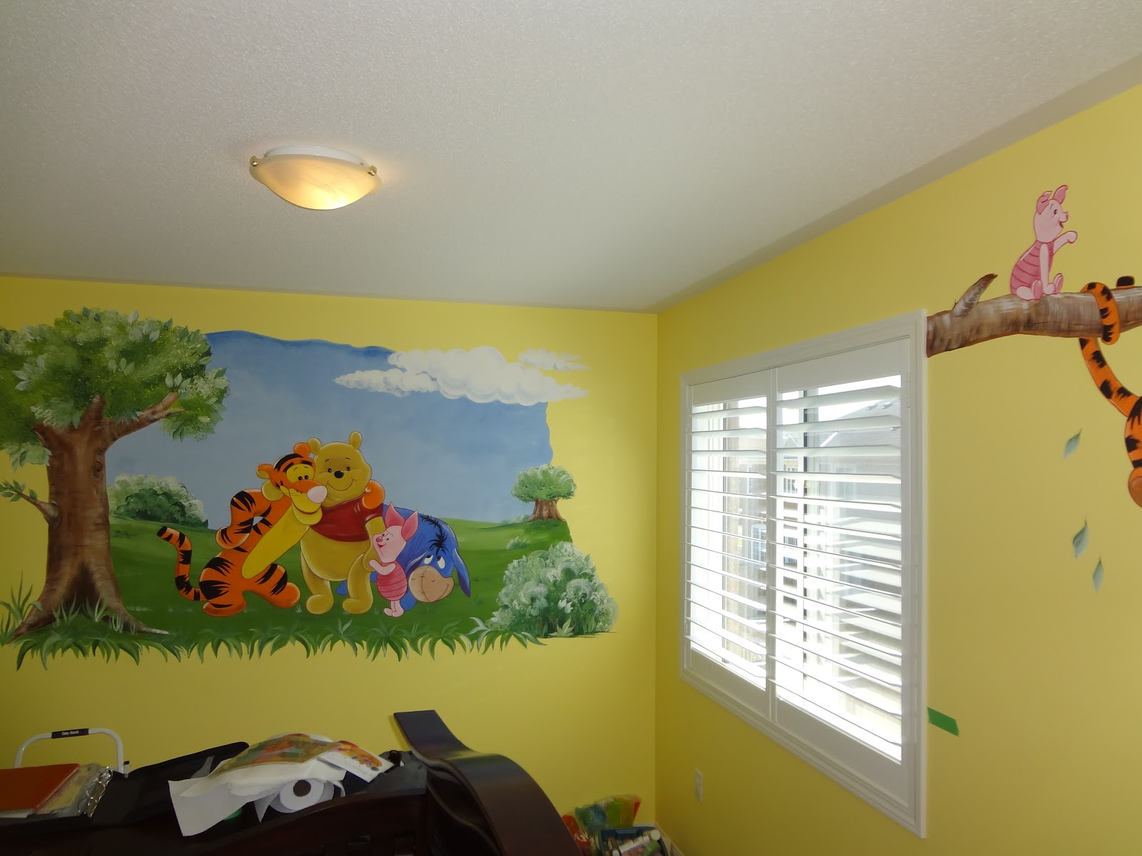 Magic on the Wall Murals for children Winnie the Pooh 3