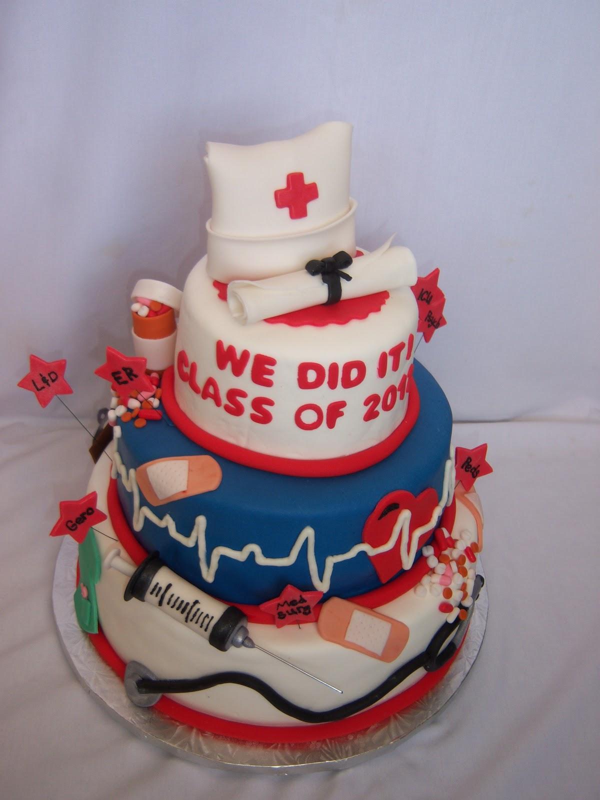 Rn Graduation Cake Ideas