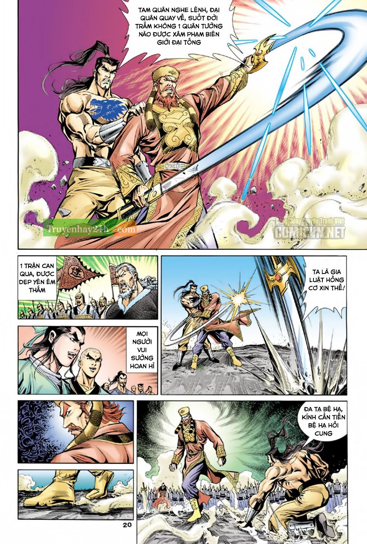 Thiên Long Bát Bộ chap 100 - Trang 21