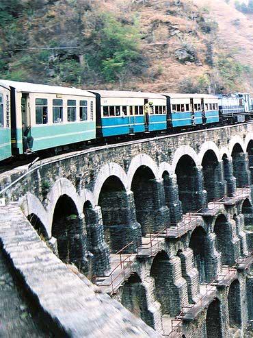 Tunnel 103 Shimla Kalka Railway Line