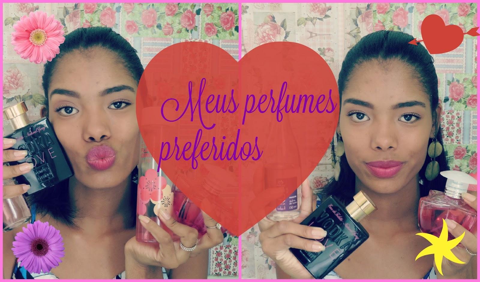Vídeo: Meus perfumes preferidos