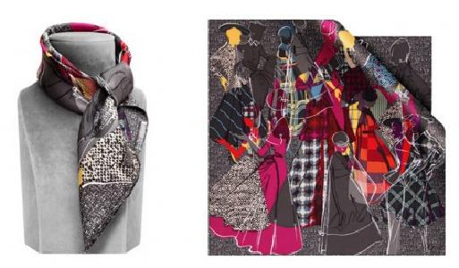 Christian Dior 2012 Eşarp modelleri