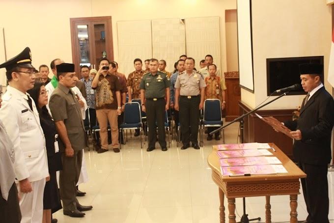 Walikota Mutasi 139 Pejabat Esselon II,III dan IV