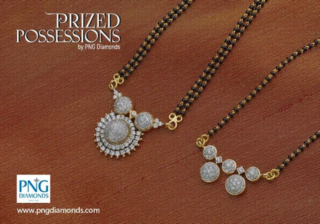 10 Different Styles Diamond Mangalsutra