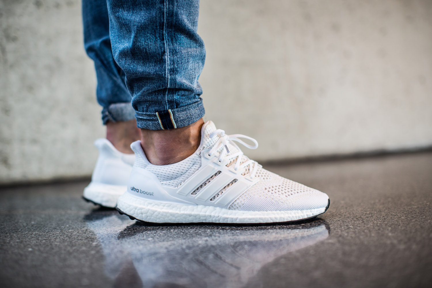 Adidas Ultra Boost White Silver