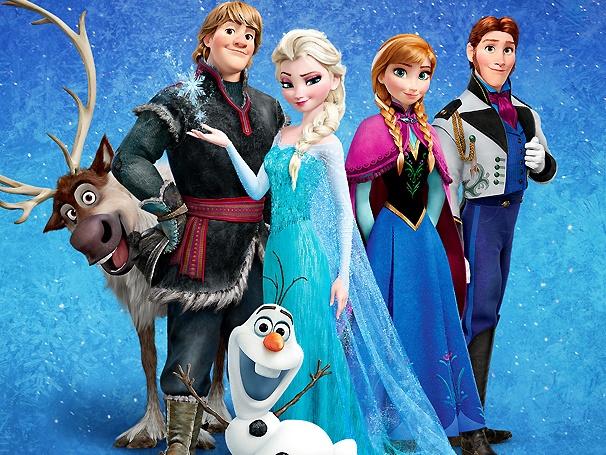 gambar frozen gambar lucu