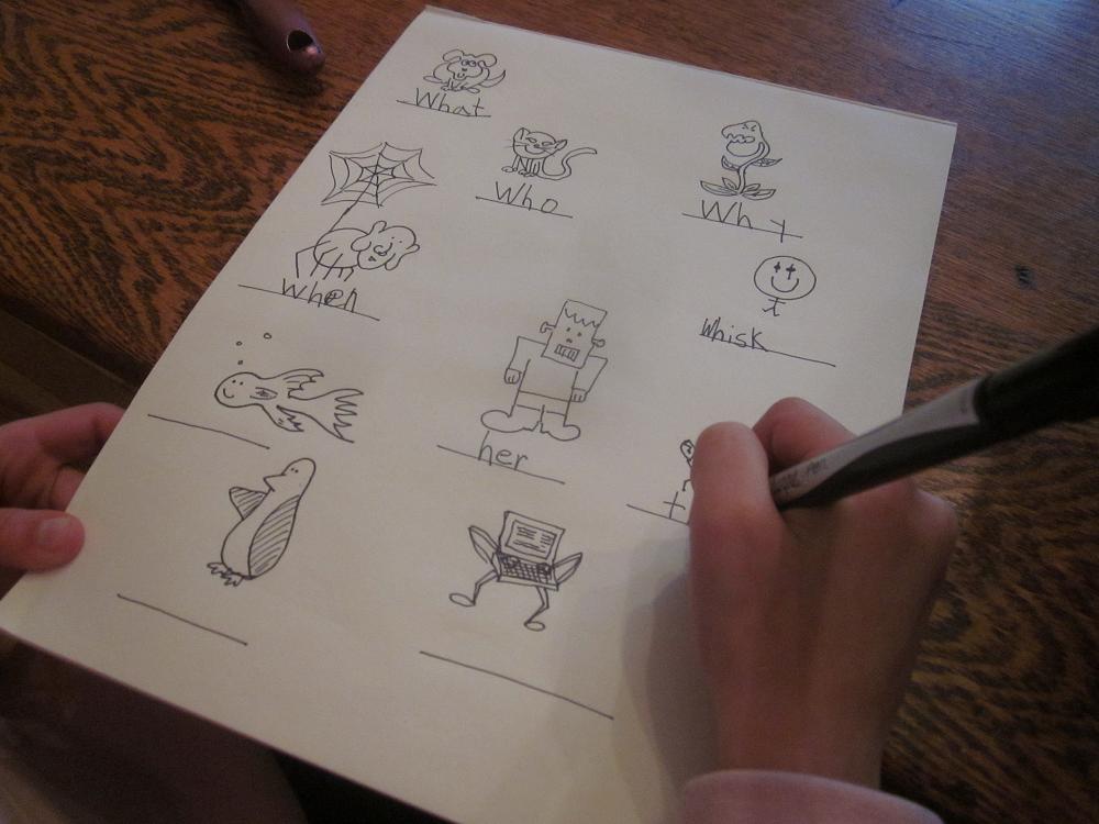 kids homework