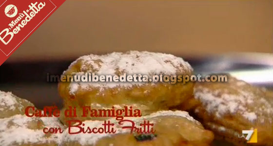 Caff di Famiglia con Biscotti Fritti di Benedetta Parodi